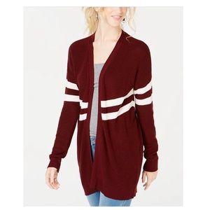 🏷 Hippie Rose Junior's Varsity Stripe Cardigan